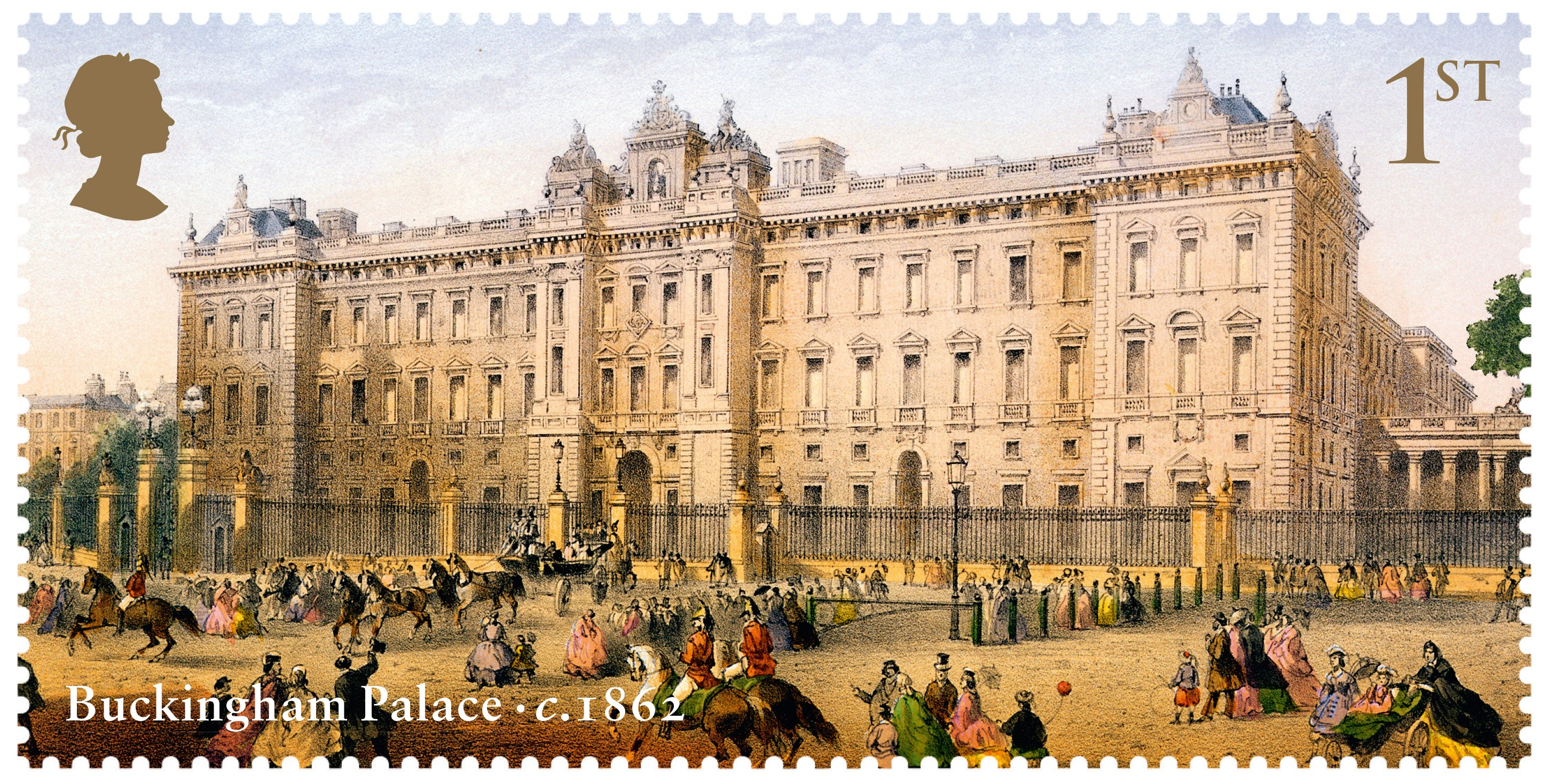 Buckingham Palace The British Postal Museum Amp Archive Blog