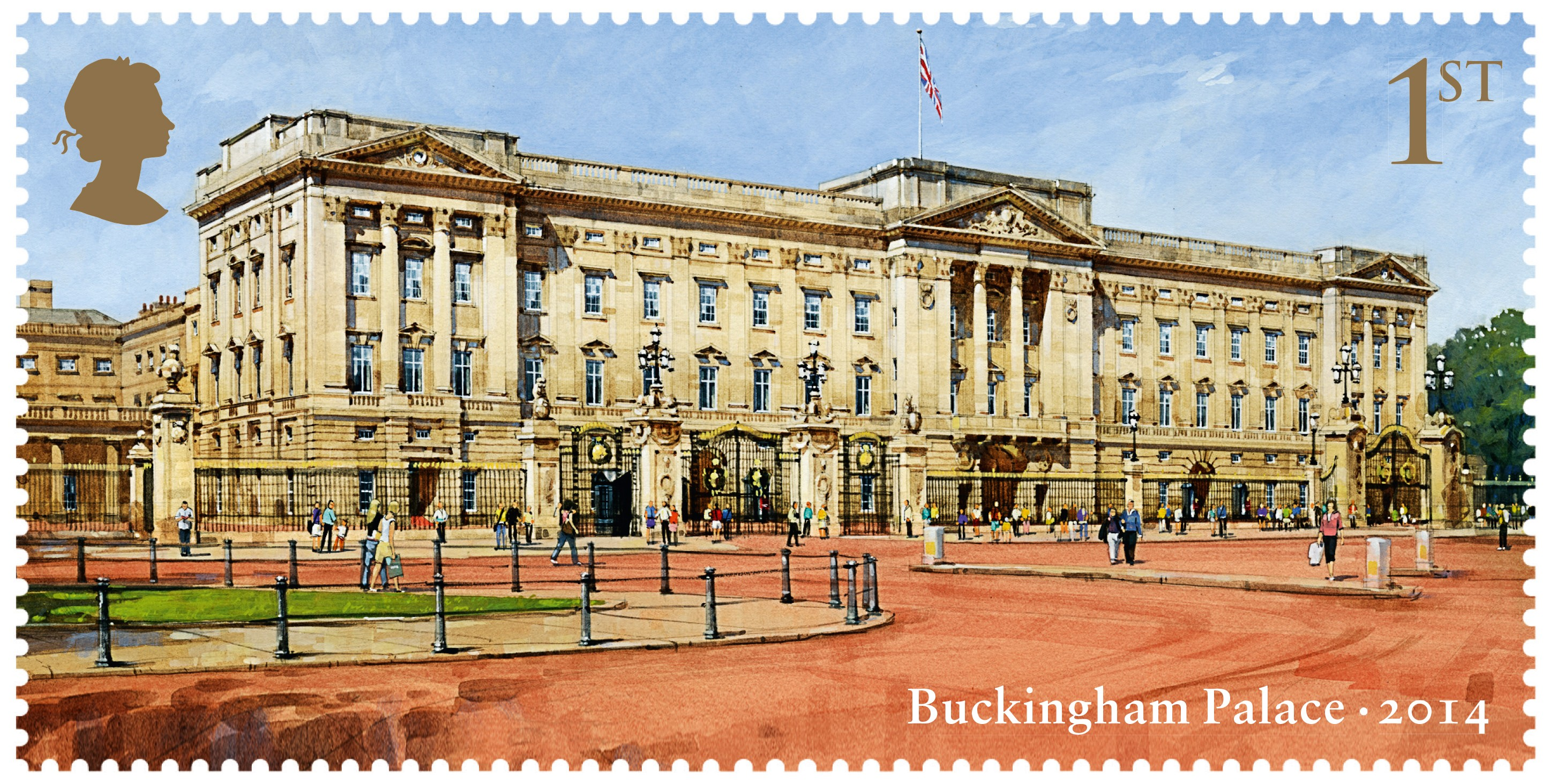 Buckingham stamps released | The British Postal Museum & Archive