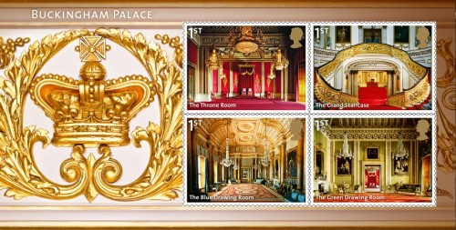 Buckingham stamps released
