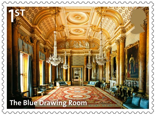 The Blue Drawing Room, 1st class.