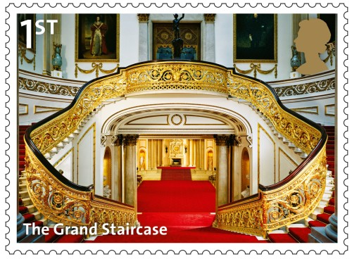 The Grand Staircase, 1st class.