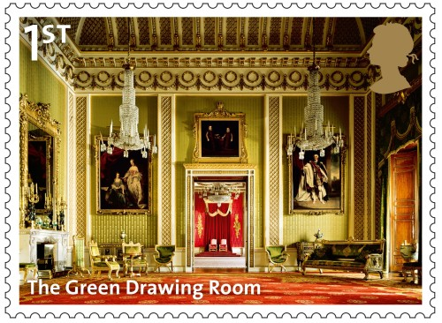 The Green Drawing Room, 1st class.