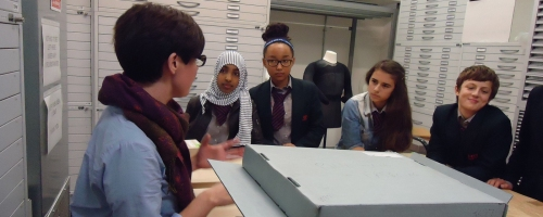 Students discover the First World War stories in our archive with Curator Vyki.