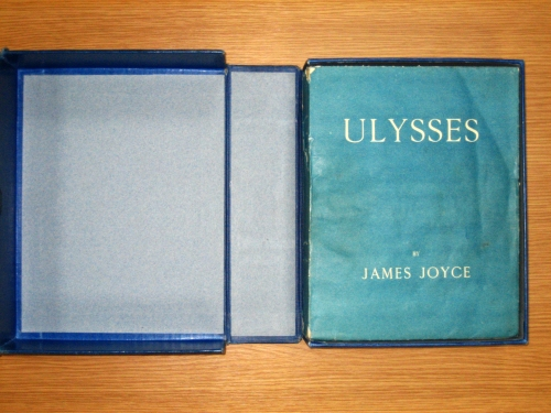 Ulysses first edition in its original box, POST 23/220.