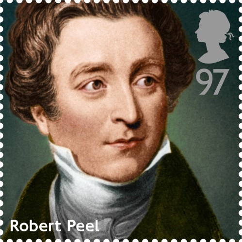 PM Robert Peel, £0.97