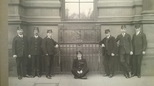Group photo of Dundee Postal War Memorial Committee.