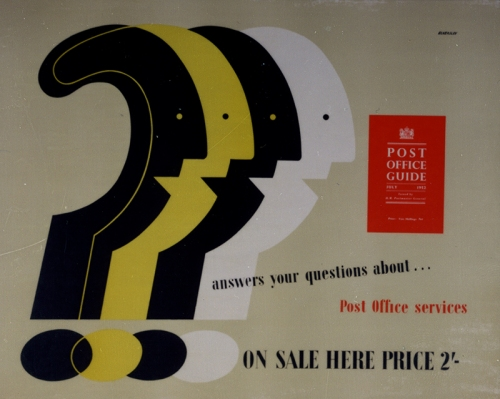 POST 110/3215 Tom Eckersley, 1952 (PRD 0675)