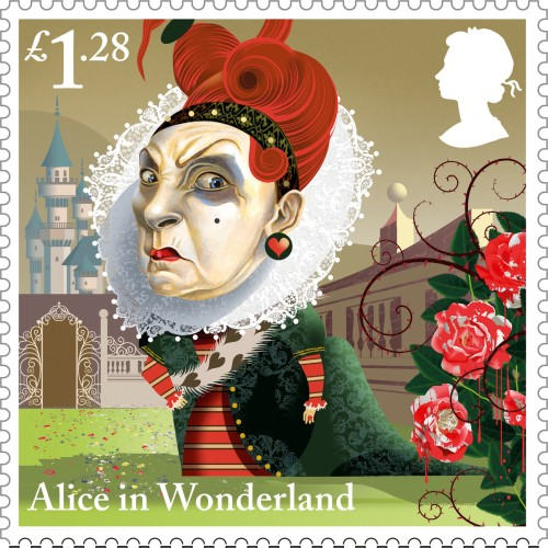New Stamps Alice In Wonderland The British Postal Museum Amp Archive Blog