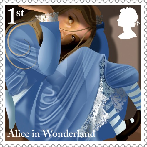 Alice in Wonderland, 1st class.