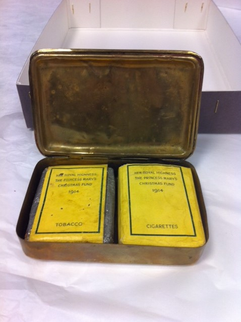 Princess Mary tin and contents.