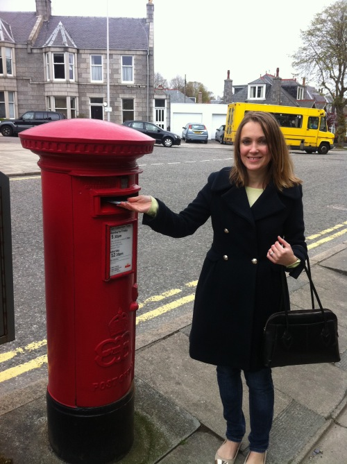 Very excited to find a Edward VIII pillar box!