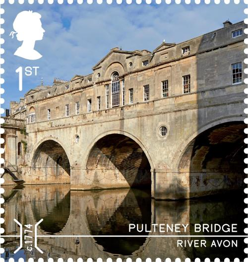 Pulteney Bridge, 1st class.