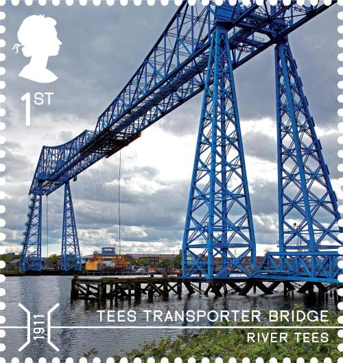 Tees Transporter Bridge, 1st class.
