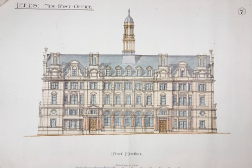 Henry Tanners elevation design for Leeds