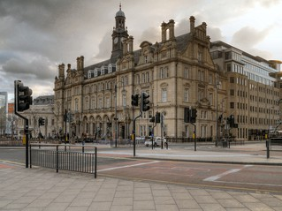 Leeds Post Office today. Photograph © David Dixon via Geograph and licensed for re-use under a Creative Commons Licence