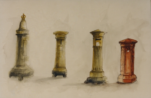 Early pillar box designs