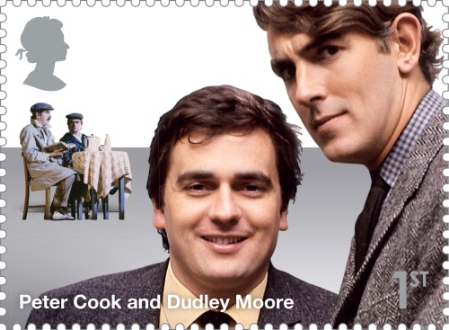 Comedy_Greats_Peter_Cook_and_Dudley_Moore_Stamp_400%