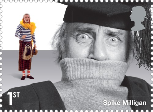 Comedy_Greats_Spike_Milligan_Stamp_400%
