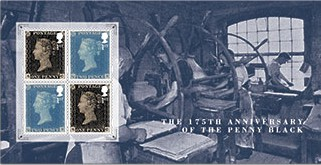Penny Black Miniature Sheet