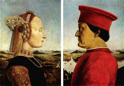 Piero della Francesca 'Duke of Urbibo' c1467-1470