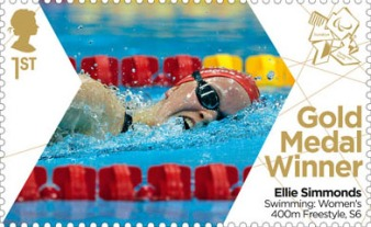 Paralympics Team GB Gold Medal Winners Ellie Simmonds 2012 - 1st NVI