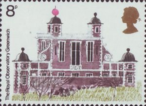 European Architectural Heritage Year, Royal Observatory, Greenwich Stamp (1975)