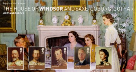 The House of Windsor - (2012) Presentation Pack
