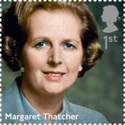 Prime Ministers 1st Stamp (2014) Margaret Thatcher