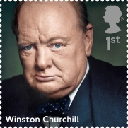 Prime Ministers 1st Stamp (2014) Winston Churchill