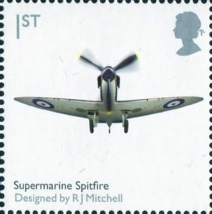 1st, Supermarine Spitfire by R.J.Mitchell from Design Classics (2009)