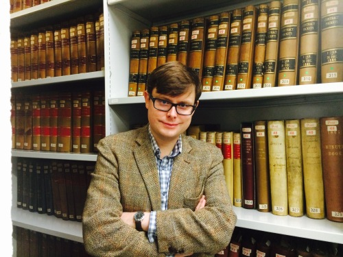 Matt Tantony, our new (old) archivist.
