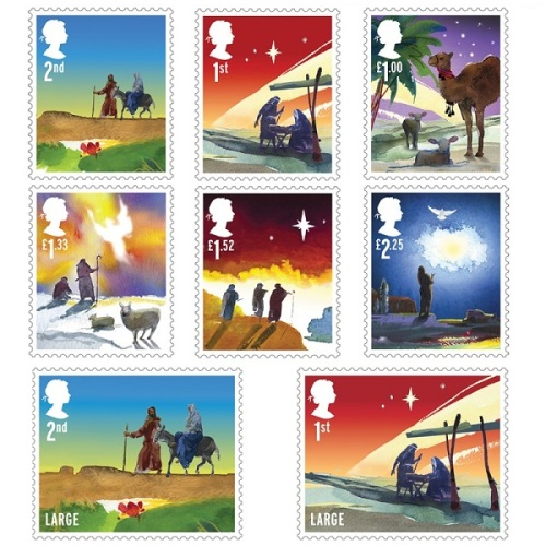 Christmas Stamps revised artwork