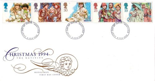 Christmas Nativity Play First Day Cover 1994