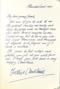 dear santa the history of writing to father christmas the