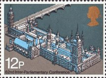 12p, Palace of Westminster from 62nd Inter-Parliamentary Union Conference (1975)
