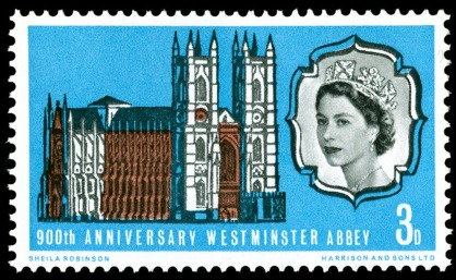 1966900thAnniversaryWestminsterAbbey28021966A