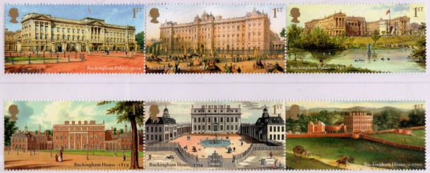 Buckingham Palace, Stamp Set 2014