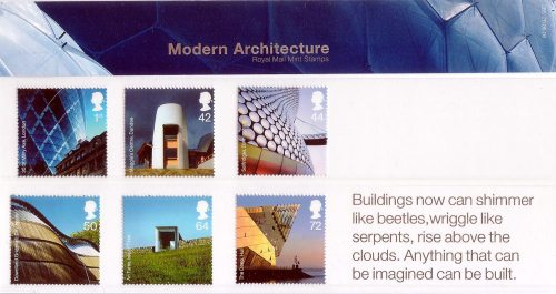 Modern Architecture, Presentation Pack, 2006