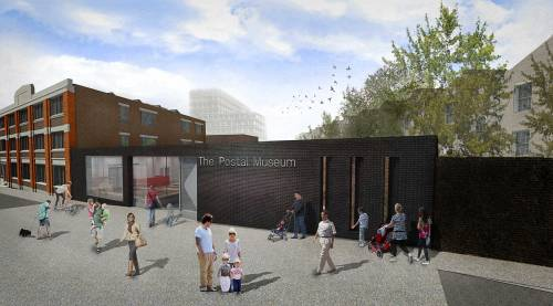 Visualisation of how The Postal Museum might look